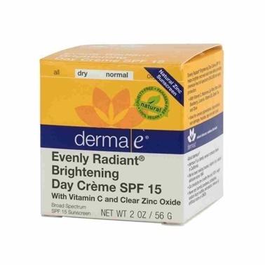Derma E Derma E Evenly Radiant Day Cream Spf15 56gr-Aydınlatıcı Gündüz Bakım Kremi Renksiz